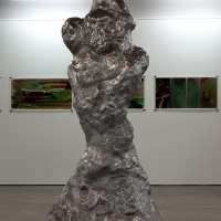 Daniel Silver, 'The Artist his Father and his Son' (1_2), 2011. Cast aluminium