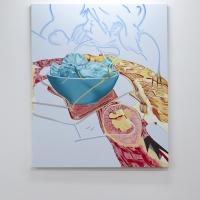 Entrée, 2016. Acrylic and oil on canvas, 180 x 160 cm. Block 336.jpg