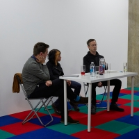 Jennet Thomas in conversation with Simon O'Sullivan & George Vasey