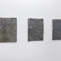 Drip-fed, 2016, Lead, 32 x 40 cm