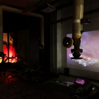 MSHR, Nightscape Navigator, 2013. Video game and mixed media